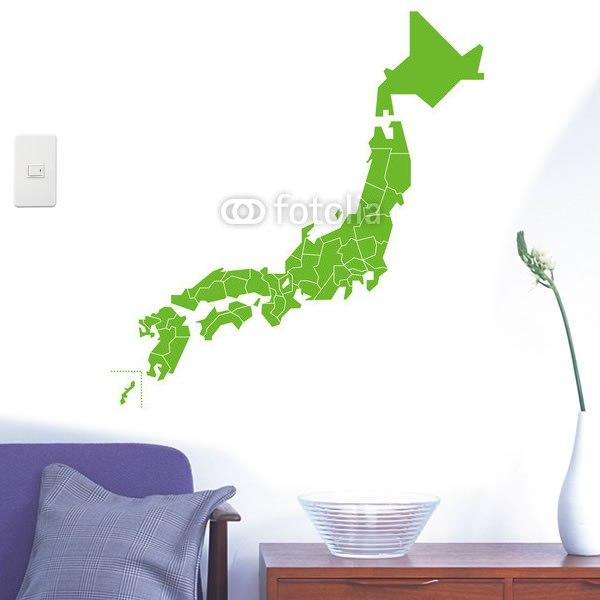 日本地図 イラスト かわいい