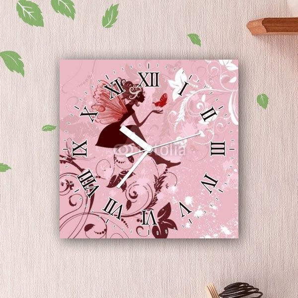 【掛け時計】恋するフェアリー