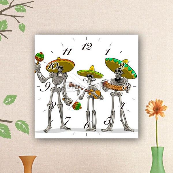 【掛け時計】メキシカンミュージシャン