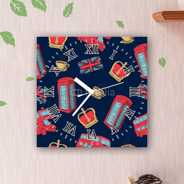 【掛け時計】イギリスパターン