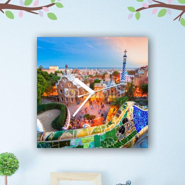【掛け時計】スペインの風景