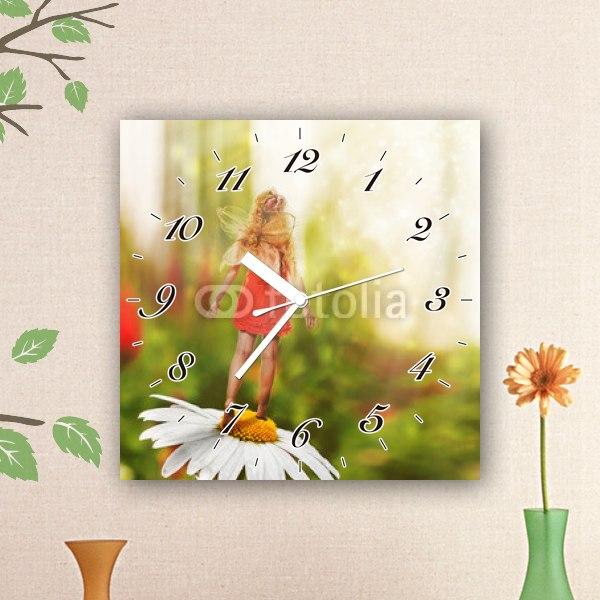 【掛け時計】小さな妖精