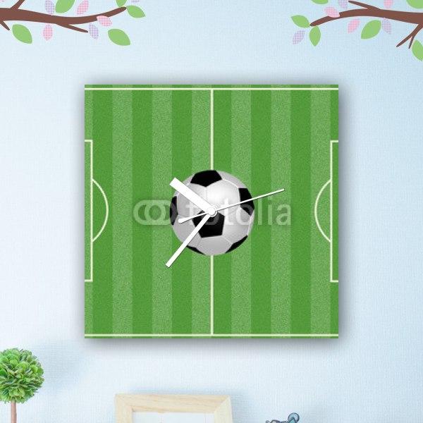 【掛け時計】レッツ・プレイ・サッカー