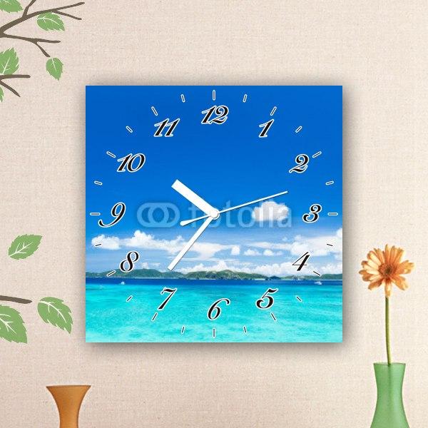 【掛け時計】沖縄の海・渡嘉敷島
