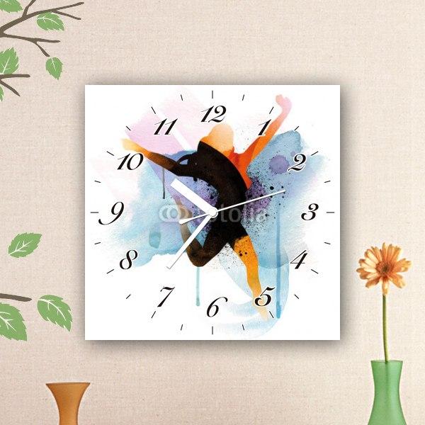 【掛け時計】ウーマンアート