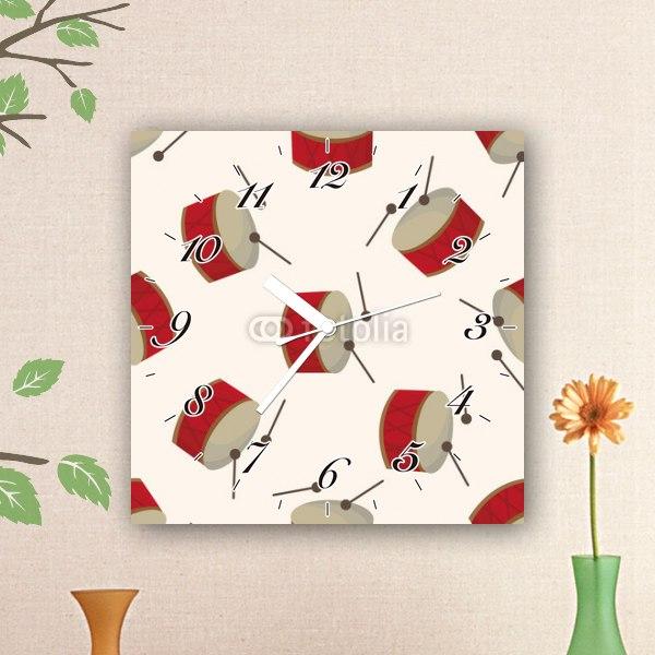 【掛け時計】ドラムパターン