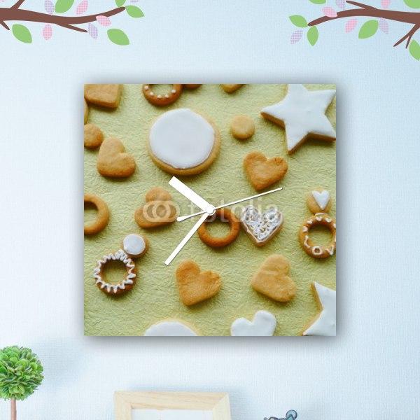 【掛け時計】アイシングクッキー