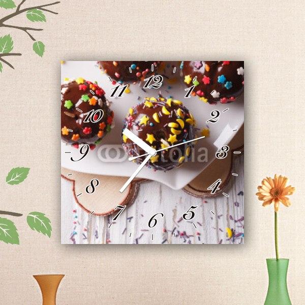 【掛け時計】ポップなチョコレート