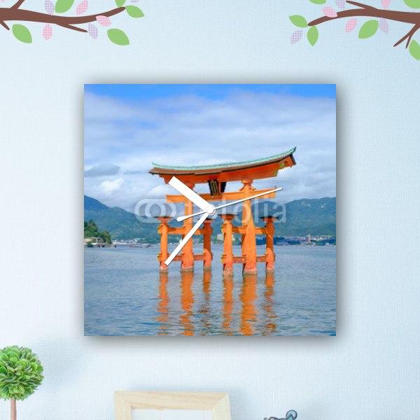 【掛け時計】広島・厳島神社