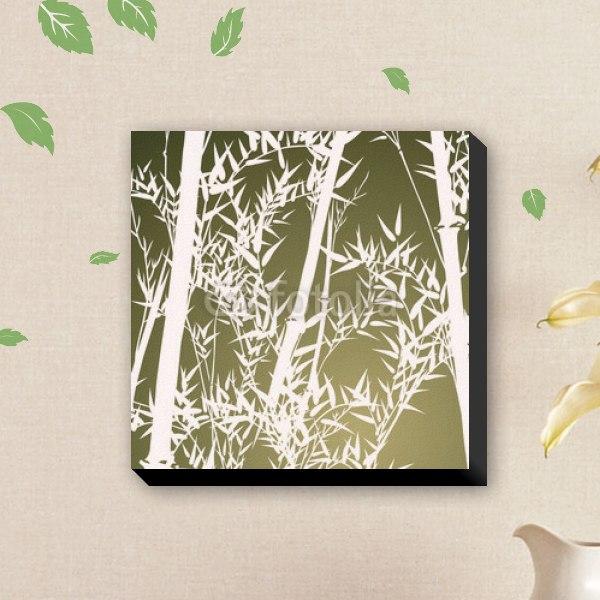 【ファブリックパネル】竹林の庭