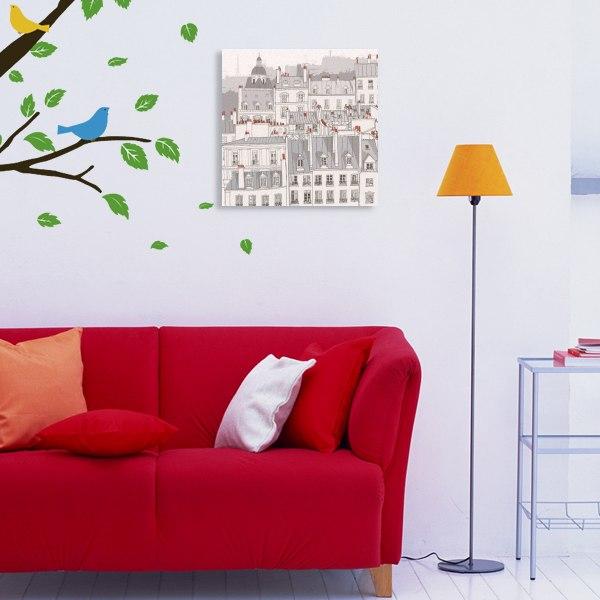 【キャンバスアート】パリの煙突