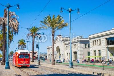 【インテリアシール】サンフランシスコの街並み ウォールステッカー
