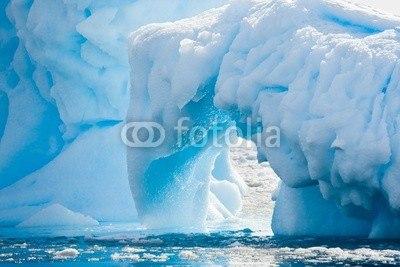 【インテリアシール】南極の氷河 ウォールステッカー