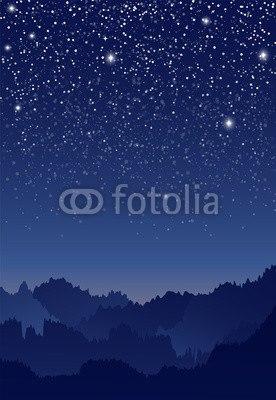 【壁紙】田舎の星空