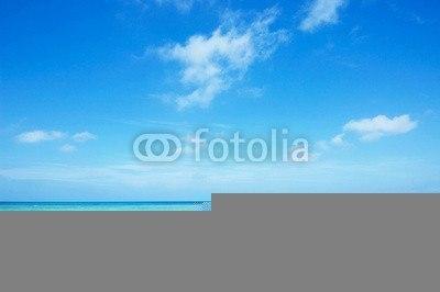 【インテリアシール】窓から見た沖縄のビーチ ウォールステッカー
