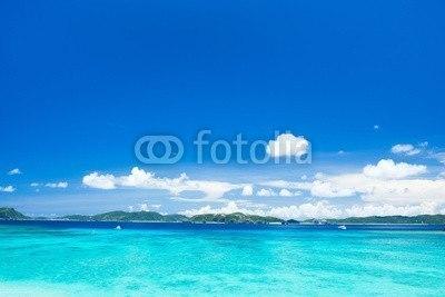 【インテリアシール】沖縄の海・渡嘉敷島 ウォールステッカー