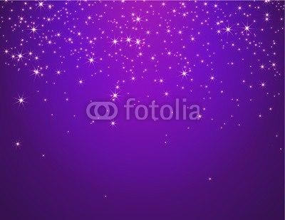 【壁紙】紫色の星空