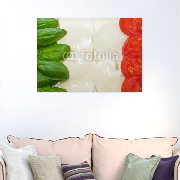 【インテリアポスター】ユニークなイタリアの国旗