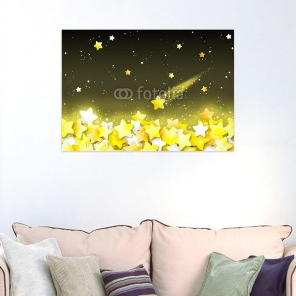 【インテリアポスター】輝く星