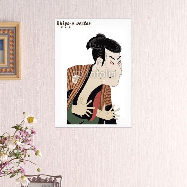 【インテリアポスター】歌舞伎役者の浮世絵