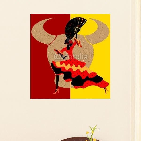 【インテリアポスター】スペインのフラメンコ