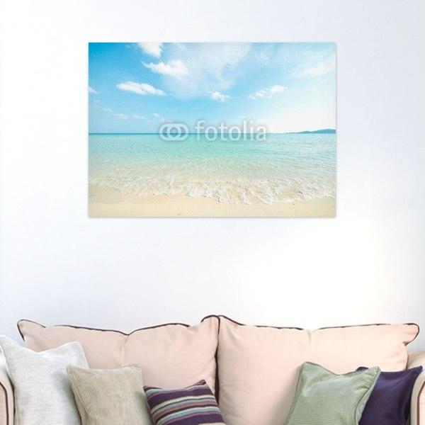 【インテリアポスター】沖縄の美しいさざなみ