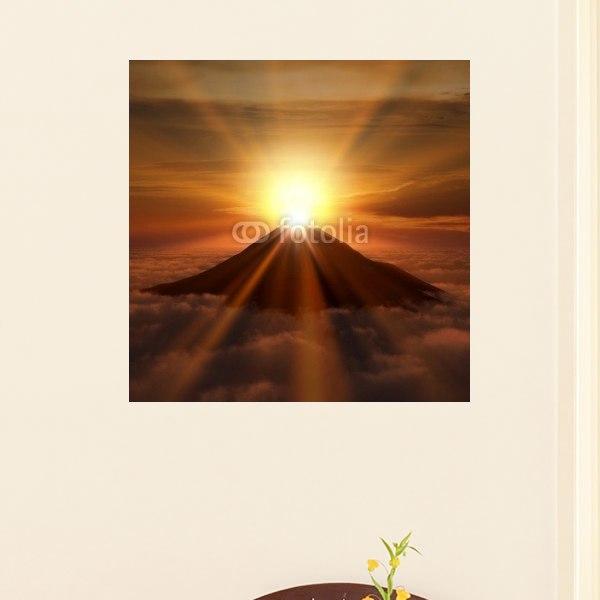 【インテリアポスター】富士の日の出