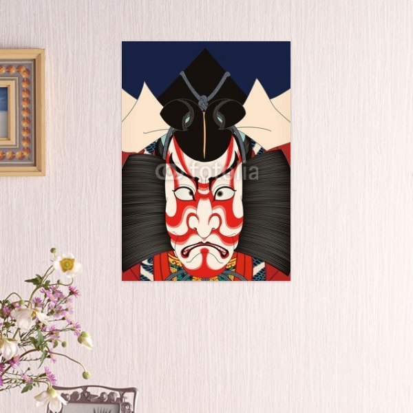 【インテリアポスター】歌川豊国 市川海老蔵