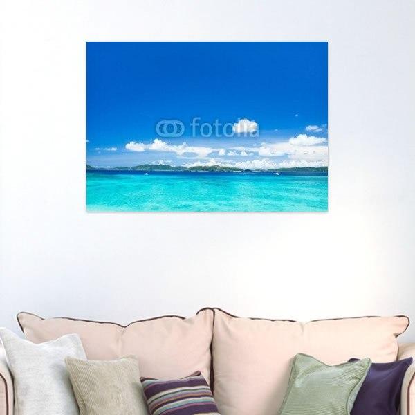 【インテリアポスター】沖縄の海・渡嘉敷島