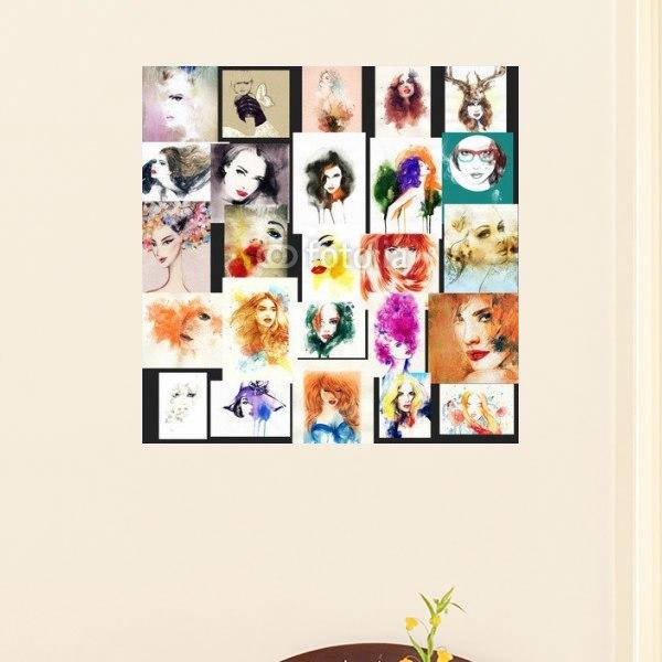 【インテリアポスター】美しき女性たちポスター