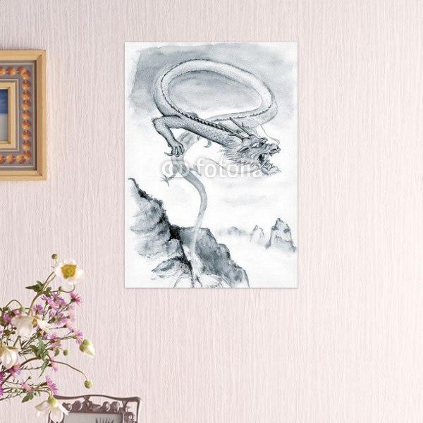 【インテリアポスター】龍の誕生ポスター