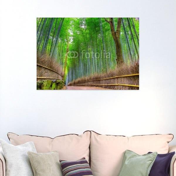 【インテリアポスター】京都の竹林