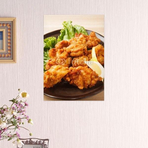 【インテリアポスター】鶏の唐揚げ