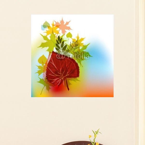 【インテリアポスター】オータムカラー
