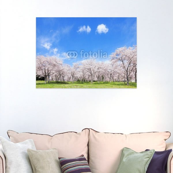 【インテリアポスター】桜の風景