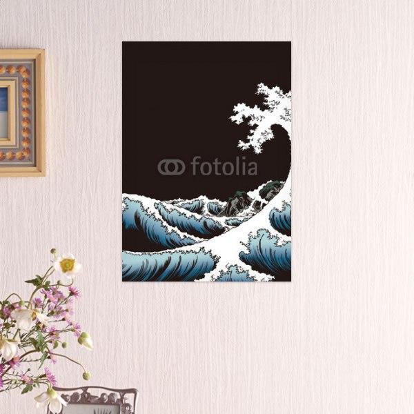 【インテリアポスター】駿河薩タ之海上