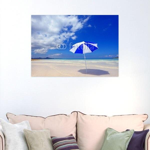 【インテリアポスター】真夏の南国の美しいビーチ