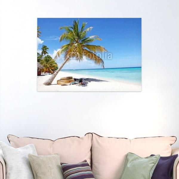 【インテリアポスター】カリブ海のビーチ