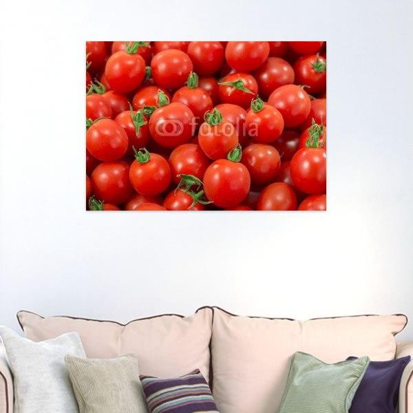 【インテリアポスター】ぎっしり詰まったプチトマト