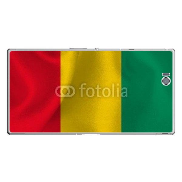 【スキンシール】au Xperia Z Ultra SOL24 ギニアの国旗