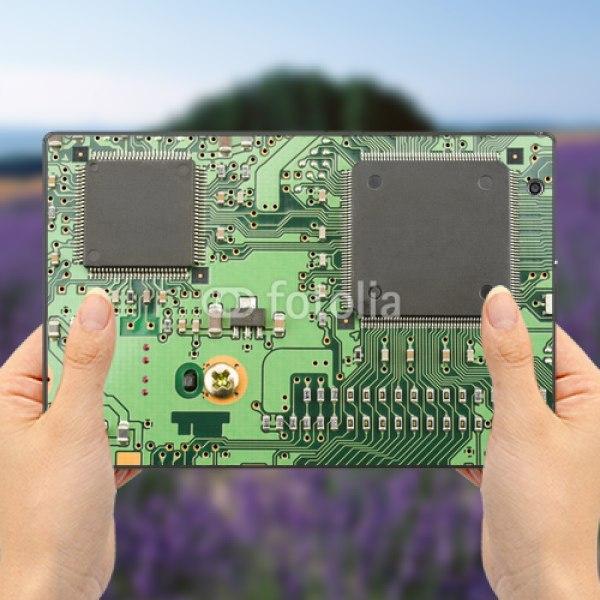 【スキンシール】au Xperia Z4 Tablet SOT31 IC基板