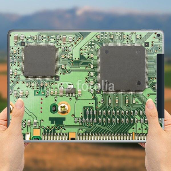 【スキンシール】iPad Pro 12.9inch Cellular IC基板