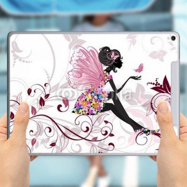 【スキンシール】iPad Pro 12.9inch (2017年発売) Cellular フローラルフェアリー