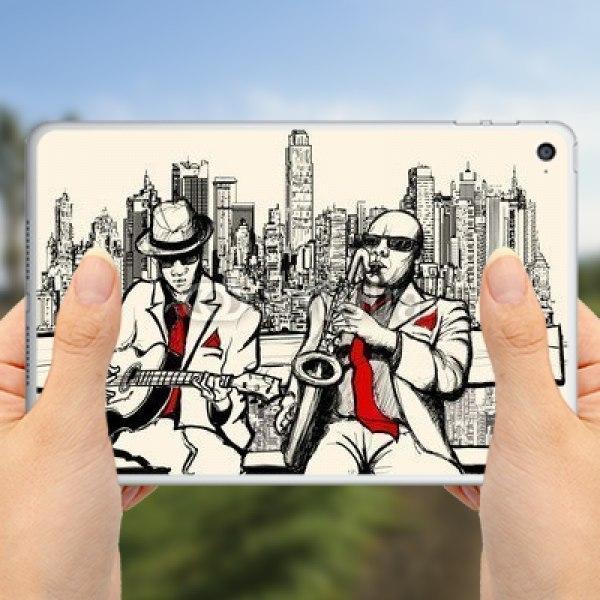 【スキンシール】iPad mini 4 Wi-Fi ニューヨークのジャズミュージシャン