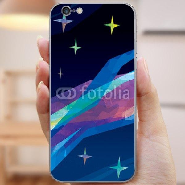 【スキンシール】iPhone 6s 絵画風・天の川