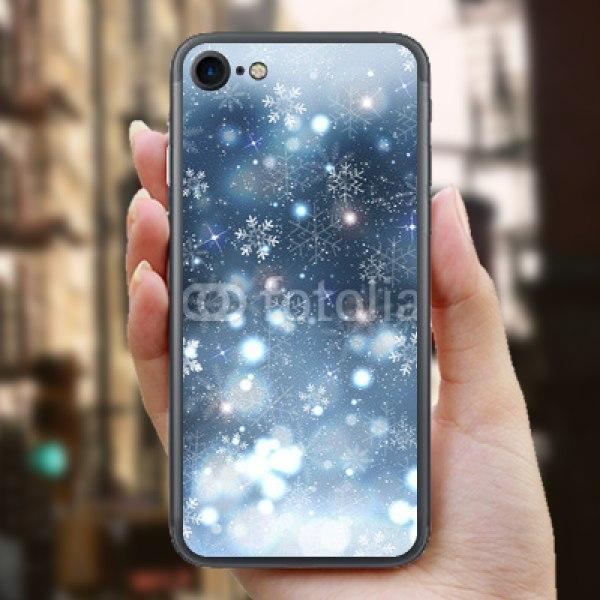 【スキンシール】iPhone 7 光舞う雪景色