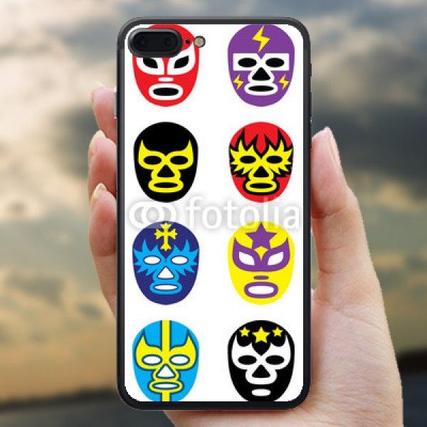 【スキンシール】iPhone 7 Plus メキシカンレスラーマスク