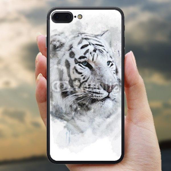 【スキンシール】iPhone 7 Plus ホワイトタイガー