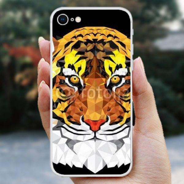 【スキンシール】iPhone 8 闇夜の虎