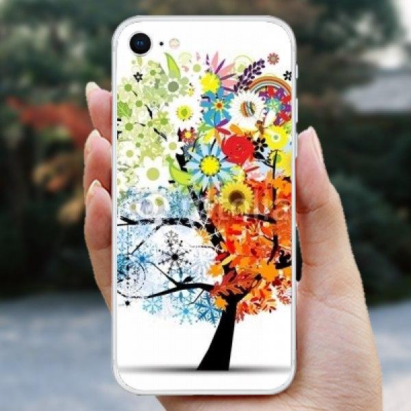 【スキンシール】iPhone 8 シーズンツリー